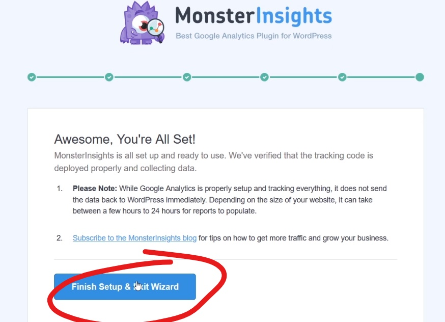 Monster Insight and Google Analytics