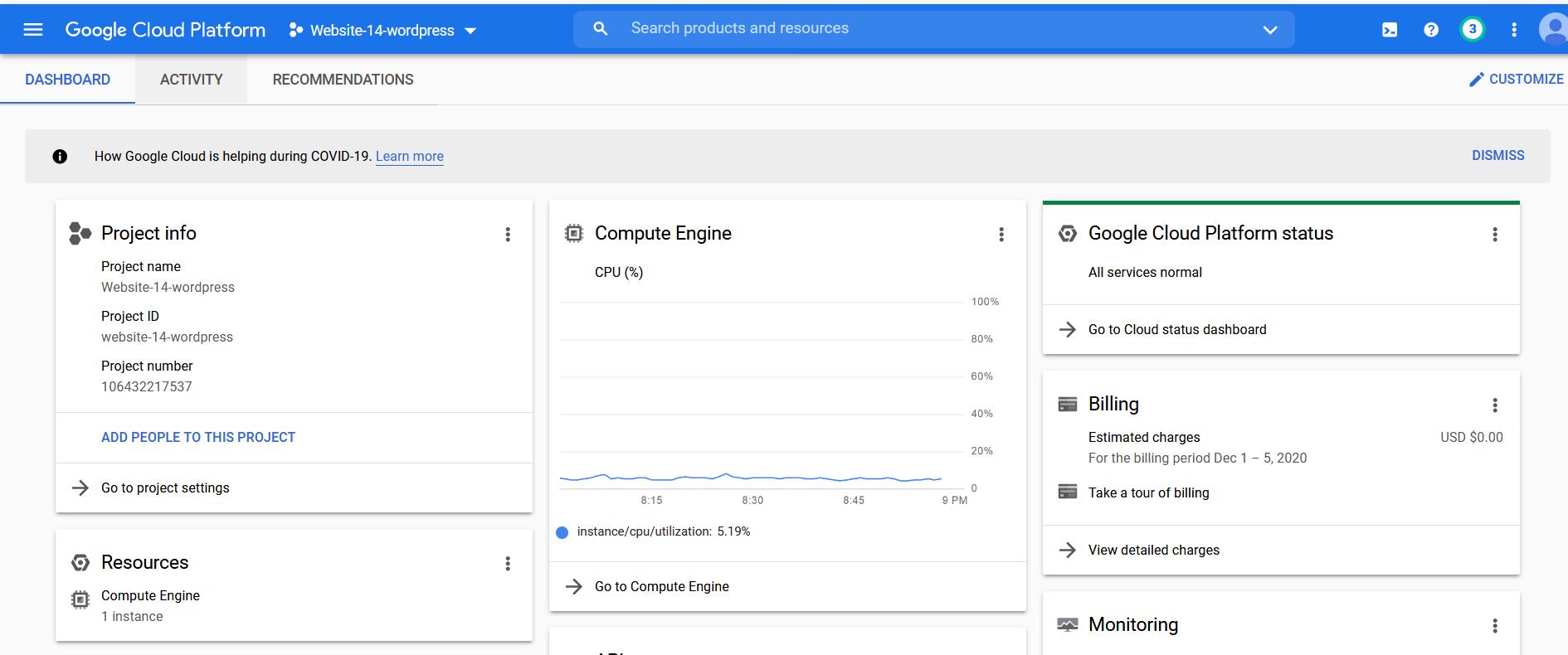 Google Cloud Website Hosting Tutorial